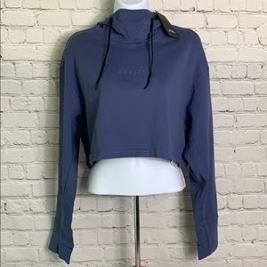 NWT Oakley Women's Small Short Hoodie Sweatshirt